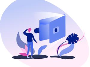 Wallet Illustration Sketch Resource
