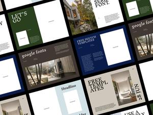 Editorial Templates Sketch Resource