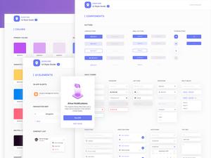 Eggplore UI Style Guide Sketch Resource