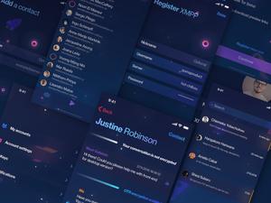 Encrypted Messenger Concept Sketch Resource