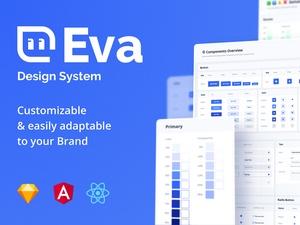 Sketch Design System – Eva