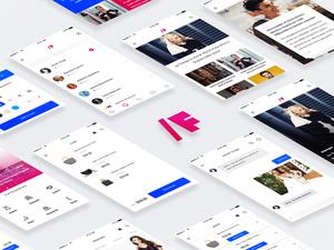 Fashion App UI Kit Sample
