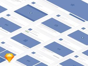 Facebook Elements Kit Demo Sketch Resource