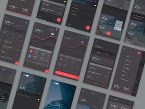 Sample Financial App Sketch Resource