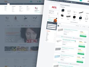 Fiyo E-commerce Website Sketch Resource