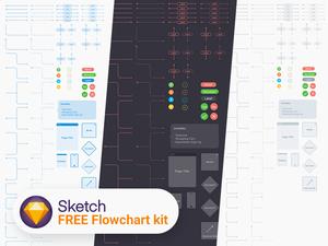 Flowchart Kit for Sketch