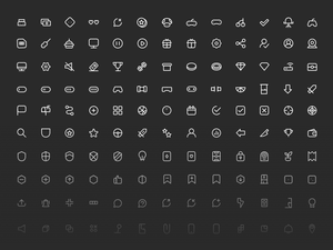 Gamer Life Icon Pack Sketch Resource