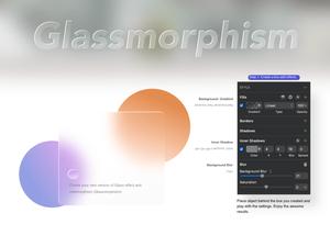 Glassmorphism Sketch Resource