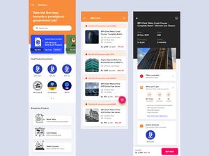 Gov Jobs Practice Test App Concept Sketch Resource