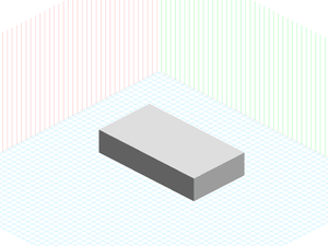 Isometric Grid Template Sketch Resource