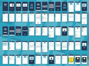 Handyman App Concept Sketch Resource