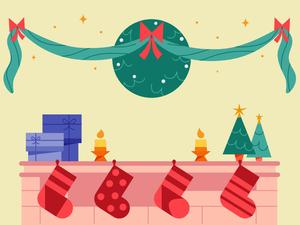 Holiday Illustration Sketch Resource