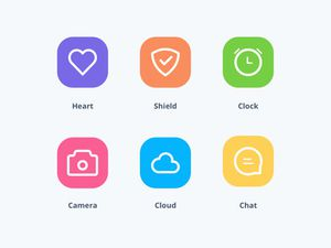 8 Simple Icons Sketch Resource