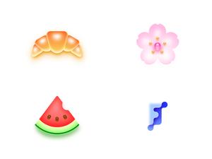 4 Random Icons Sketch Resource