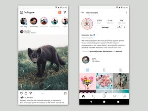 Instagram Stories Concept Sketch Resource