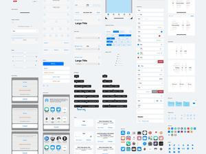 iOS 11 UI Kit for Sketch