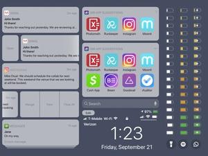 iOS 13 Lock Screen UI Kit Sketch Resource