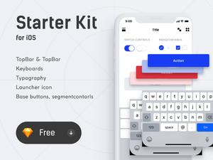 iOS Starker Kit Sketch Resource