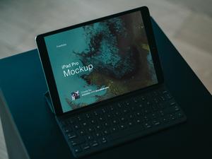 iPad Pro Mockup Sketch Resource