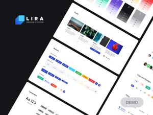 Lira Design System Demo Sketch Resource