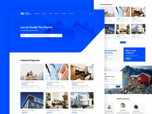 Real Estate Homepage Sketch Resource