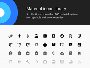 Material Icons Sketch Library Sketch Resource