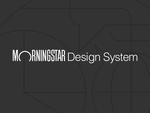 Morningstar Design System Sketch Resource