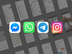Messaging Apps Library Sketch Resource