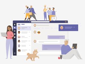 Chat Illustration Sketch Resource