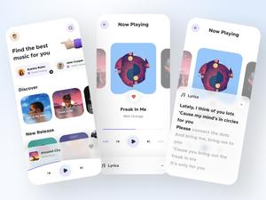 Simple Music App Sketch Recurso