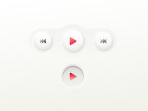 Neumorphic Buttons Sketch Resource