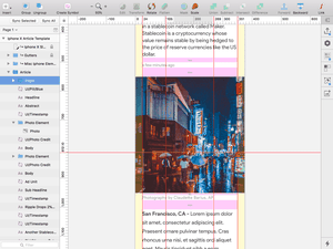 News Article Template Sketch Resource