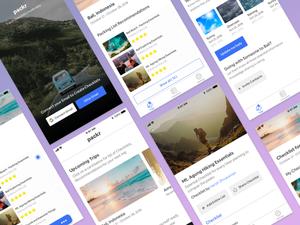 Packr - Travel Checklist App Sketch Resource