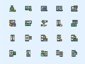 Payment Icons Sketch Resource