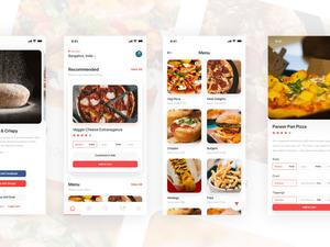 Pizza Delivery App Sketch Resource
