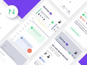 Planguru Mobile UI Kit Sketch Resource