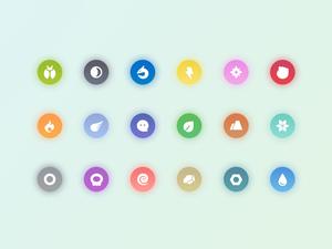 Pokemon Types Icons Sketch Resource