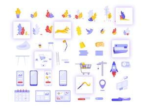 Pulse Illustration Kit Sketch Resource