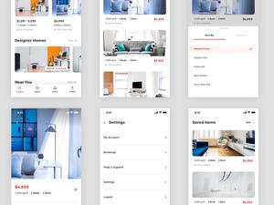 Real Estate Concept App Sketch Resource