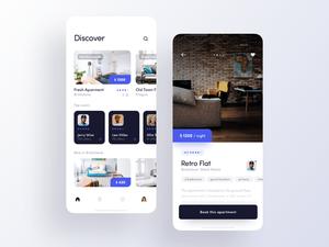 Rent App Concept Sketch Resource
