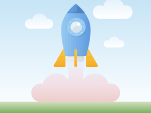 Rocket Illustration Sketch Resource