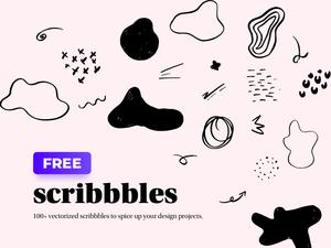 100 Scribbles Sketch Resource
