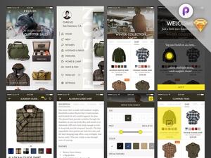 Shop iOS App – UI & Prototype