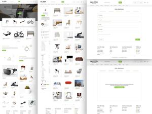 Shopper UI Kit Sketch Resource