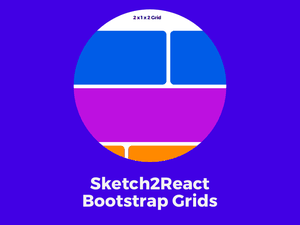 Sketch2React Bootstrap Grids Sketch Resource