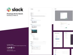 Slack Prototype Kit Sketch Resource