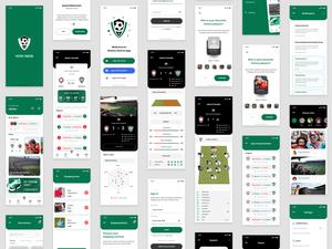 Sports Club Directory App Sketch Resource