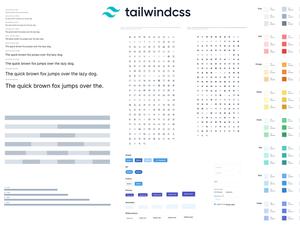 Tailwind CSS Sketch UI Kit Sketch Resource