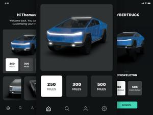 Tesla Cybertuck Concept App Sketch Resource