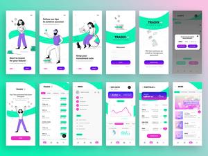 Trading App Starter Kit Sketch Resource